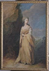 ritratto di nobildonna by thomas gainsborough