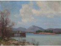 loch awe by george houston