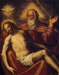 la santissima trinità by giovanni battista secchi