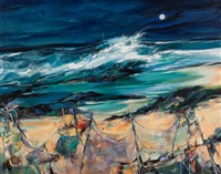 storm tide, benbecula by shelagh campbell