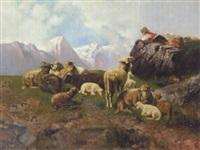 en hyrdedreng i bjergene by georg hilgers
