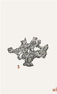 骨形湖石 by zeng xiaojun