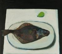 a plaice by alberto morrocco