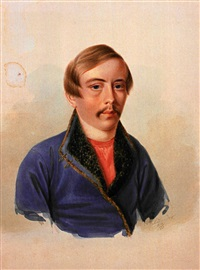portrait des baron dimitry gregorjevitch rosen by alexander julius klünder