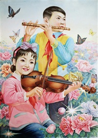 春光曲 (spring melody) by xue jiahui