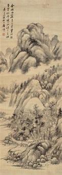 山水 (landscape) by tu zhuo