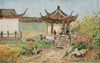 凉亭 by lin dachuan