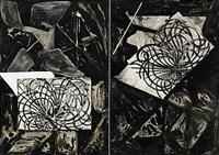 utan titel (diptych) by johan scott