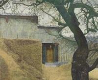 2003年3月作 屋 by liu xun