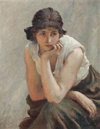 quiet contemplation by vlacho bukovac