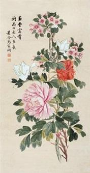 玉堂富贵 (begonia and peony) by ma jiatong