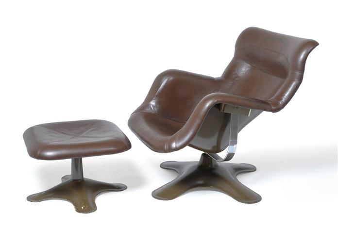 karuselli lounge chair karuselli ottoman 2 works by yrjö kukkapuro