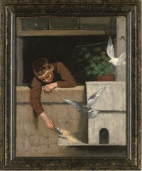 feeding the birds by walter hutcheson