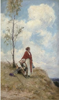 a view from the hills by george edward robertson