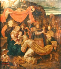 adoration of the kings by flemish school (17)