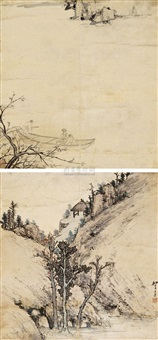landscape by wang shangling