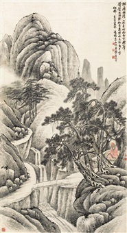 无量寿佛 (the buddha) by wu zheng and qian huafo
