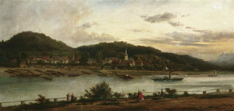 die elbe bei bad schandau by paul leuteritz