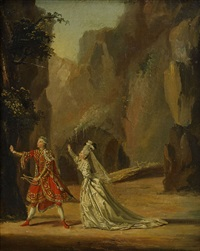 orpheus och euridice by pehr hilleström