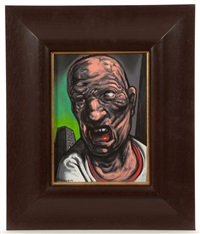 angry man by peter howson