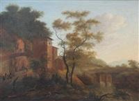 landscape by jan gabrielsz sonje