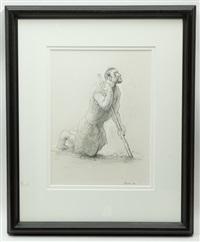 jerusalem beggar by peter howson