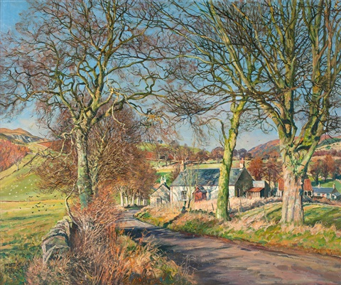 landsväg i vårlandskap by james mcintosh patrick