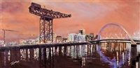 clydeside glow by james somerville lindsay