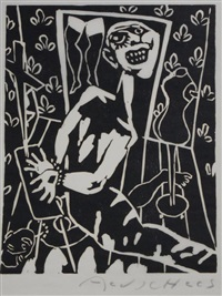 'zwart-wit' (portfolio of 17 works) by aad de haas