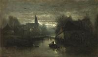 stille mondnacht by édouard-joris moerenhout