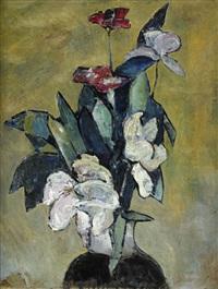 stilleben med blommor by ivan agueli