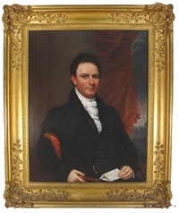 the reverend stephan n. rowan, d.d., july 1827, ny by samuel lovett waldo