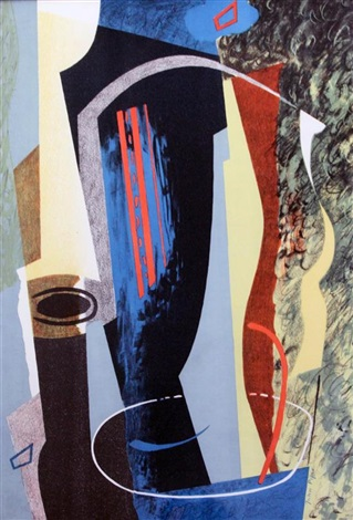abstract composition by john piper