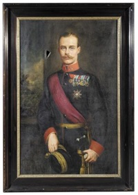 portrait of wilhelm, duke of brunswick-lüneburg by alice boscowitz