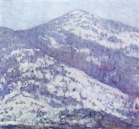 mt. kearsage, north carway, new hampshire by marion p. howard