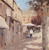 afternoon light, provence by mary davidson