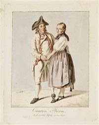 canton bern, jacob und elis. kybolz, aus dem ärgaü by franz niklaus könig