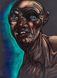 gurning by peter howson