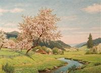 apfelblüte by julius heffner