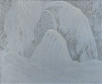 landskap i vinterskrud by bror lind