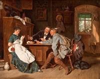 der flirt im wirtshaus by franz napoleon heigel
