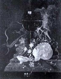 portrat eines kleinen jungen mit lindenblatt im himmelbett by paul kämmerer