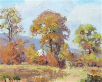 october day by henry stephens eddy