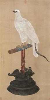 玉花鹰 by jiang tingxi