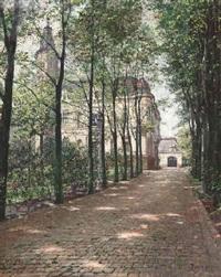 villa elisabeth im mai by carl maria seyppel