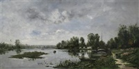 bords de la seine by paul emmanuel péraire
