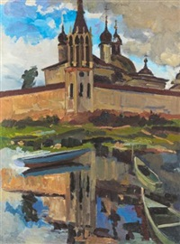 reflection: rostov veliky by alexander markovich imkhanitsky