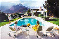 poolside gossip by slim aarons