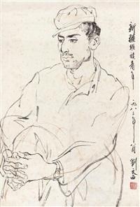 维族青年 by liu wenxi