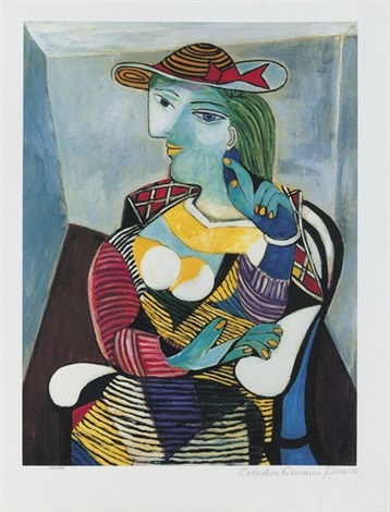 Portrait of Marie-Therese Walter by Pablo Picasso on artnet